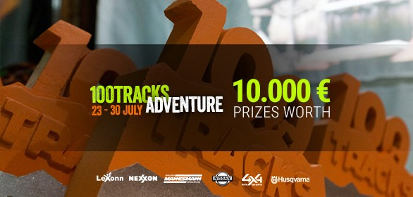 100Tracks Adventure Mureș offers 10,000 euro prizes worth!